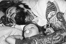 Tattoos e Piercings idea