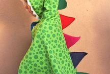 Dinosaur cape