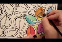 Zenspirations / Beautiful artwork created by Joanne Fink / by Julia Santos