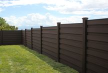 Trex Horizons - Horizontal Fencing / Modern Sophistication from Trex. The Horizons fence design offers a stunning alternative to the traditional vertical orientation of fence pickets. Perfect for privacy screens and complimentary to other horizontal landscaping or building elements.