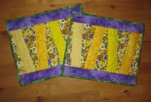 Mit eget patchwork / Quilts I´d made :-)