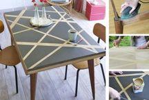 Customisation et relooking / Des tutos faciles pour donner un nouveau look à votre déco intérieure, et personnaliser vos meubles avec quelques accessoires simples en un rien de temps.