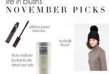 life in blush's monthly picks