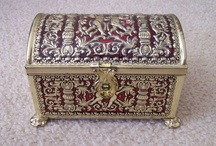 Treasure Boxes / I love vintage or exquisite boxes and treasure chests so I'm gathering the ones that appeal to me the most.
