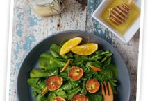 Salads / Load those fresh, crisp veggies from your garden onto a plate and enjoy with these tantalizing salad recipes.