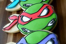 Turtle Power! / My favourite heroes in a half shell.