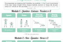 Programme Fitness 1 (Home)