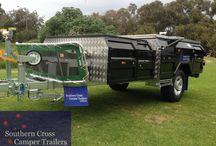 The Black Pearl Forward folding Camper trailer