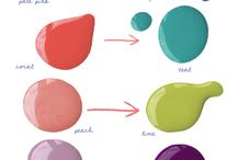 Nails ~ Lots of Pretties Colors and Fun / by Domestically Speaking