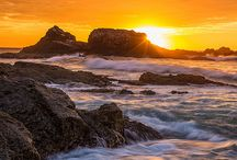 Byron Bay by Sunrise and Sunset