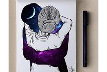 Galaxy Color Art