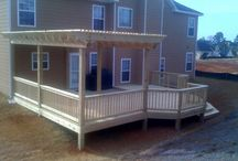 Deck ideas / by Lisa Dales