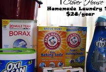 DIY laundery detergent