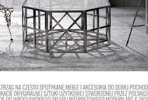 Ciekawa sztuka użytkowa i design / Przedstawiam interesującą sztukę użytkową i wzornictwo związane z wystrojem wnętrz