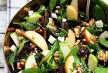 Salades d'automne
