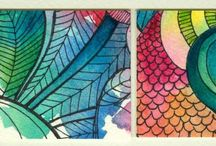 ATCs Artist Trading Cards