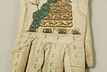 gloves and hand art