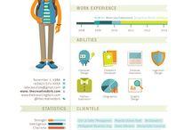 Resumé infographics
