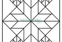 Quilters coloringpages