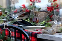 Holiday Tablescapes- The Traditionals