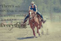 Barrel Racing / Barrel Racing