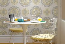 NuWallpaper / Peel and stick wallpaper that gives the look you desire without the commitment.