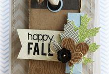 When autumn designs itself