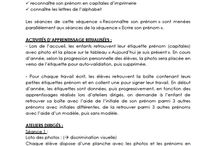 (Maternelle) Lettres & Prénom