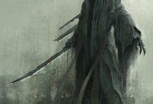 Reaper & Wing Tattoo Ideas