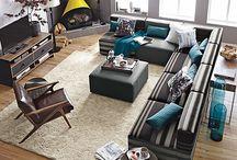 Town Home: Living Room / by Sueann Plakaris