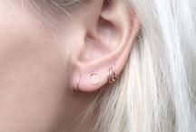 Earrings minimalistic