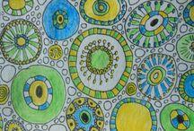 M. Sharon Baker's Sketchbook Art /  Doodles, sketches and paint - art I've created.