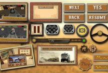 Game UI & GUI / Mysticbots Studio Game UI and GUI Designs