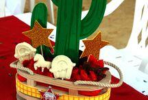 decoracion cawboy vaquero