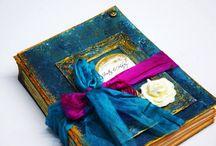 Handmade wedding Guest Book