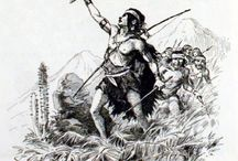 """Heroes Mapuche /  La Araucana (1569, 1578 y 1589) del conquistador español Alonso de Ercilla, dedicada al Rey Felipe II, En ella Ercilla habla de los mapuche como  Araucanos,  gente de la región de Chile.   _      """"Chile, fértil provincia y señalada en la región Antártica famosa, de remotas naciones respetada por fuerte, principal y poderosa; la gente que produce es tan granada, tan soberbia, gallarda y belicosa, que no ha sido por rey jamás regida ni a extranjero dominio sometida"""". Texto de la Araucana, Canto I"""