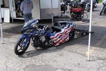 Dragster auto moto