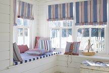 Made-to-measure blinds / Bespoke window blinds made to order, from a selection of over 4000 fabrics