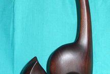 kayu patung