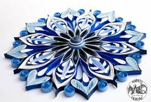 quilling svícny
