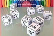Inventer une histoire avec cubes