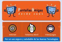 Educación digital en familia y escuela / Tablero para fomentar un uso adecuado de las pantallas y la red en los niños.