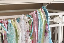 Rag Garland Banners / by Sylvia Lewis