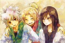 Team Hiruzen (Sannin Legendary)