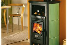 Fireplaces, woodstoves, ovens, etc.