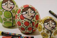 Posca atelier enfant / Idées a réaliser avec des posca