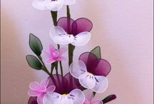 tül çiçekler
