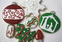 Xmas bars, cookies, foods...