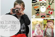Holiday Photo Props, Tips & Outfits