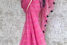 Handpainted saree ideas